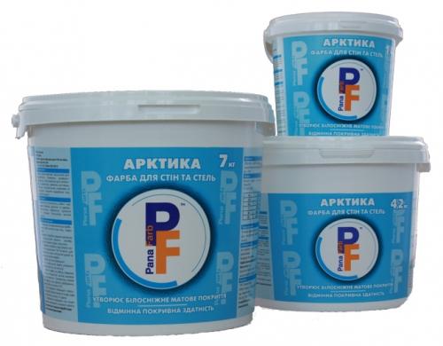 Краска акриловая белоснежная PanaFarb Арктика