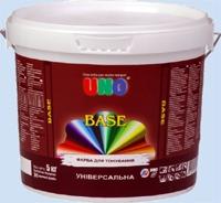 Краска акриловая для колеровки в насыщенные цвета UNO BASE