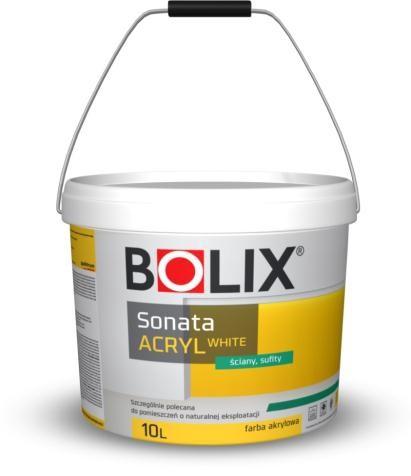 краска белая акриловая Bolix супер цена, наилучшее качество 10л