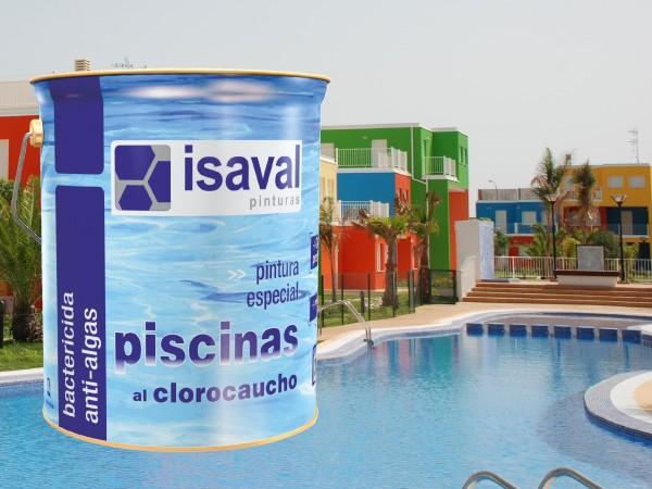 Краска для бассейнов и резервуаров хлоркаучуковая 4л - до 32м2