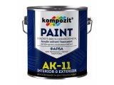 Фото  1 Краска для бетонных полов Kompozit АК-11 шелковисто-матовая 1 л серая 2038852