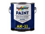 Фото  1 Краска для бетонных полов Kompozit АК-11 шелковисто-матовая 1 л белый 2038854
