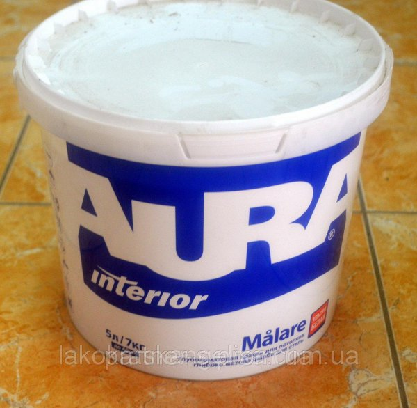 Фото  1 Краска для отделки стен и потолков Malare AURA Eskaro (5л) 1844149