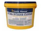 Фото  1 Краска для стен и потолка Бионик Хаус Оптима Интериор Стандарт , 14кг 2267111