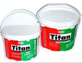 краска для стен и потолков MIXON TITAN MATTLATEKS 2,5 л. , 5л. , 10л.