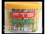 Фото  1 Краска фасадная акриловая FTS/ФТС FACADE LUXE Ведро 10л 2163641