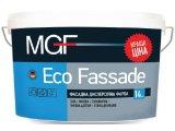Фасадная дисперсионная краска ECO FASSADE белая • матовая• экономичная • высокая адгезия • устойчива к осадкам 14кг