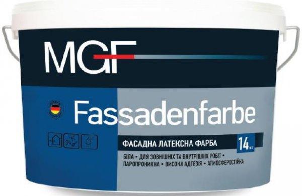 Фото  1 Фасадная латексная краска FASSADENFARBE белая,для наружных и внутренних работ, паропроницаемая,атмосферостойкая 7кг 1423080