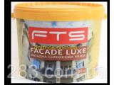 Фото  1 Краска фасадная силиконовая FTS/ФТС FACADE LUXE Ведро 10л 2163643