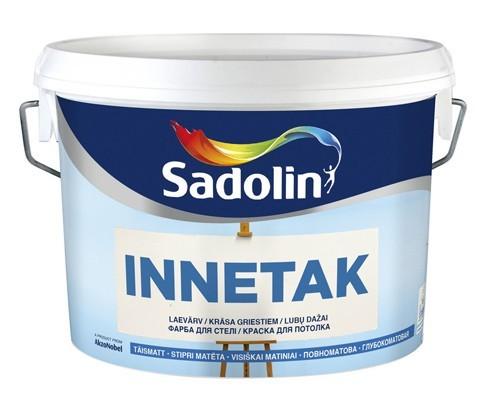 Краска глубокоматовая для потолка INNETAK 10л