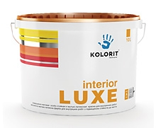 Краска Колорит interior LUXE