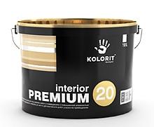 Краска Колорит interior PREMIUM 20