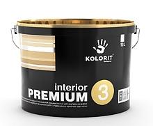 Краска Колорит interior PREMIUM 3