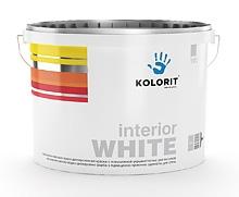 Краска Колорит interior WHITE
