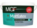 Латексная матовая краска MATTLATEX белая • для внутренних работ • стойкая к мытью • экономичная 14кг