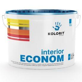 Краска Колорит- эконом в/э (10л) для внутренних работ