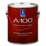 Краска SW A-100 латексная матовая для наружных работ на основе 100% акрилового полимера. Гарантия 15 лет