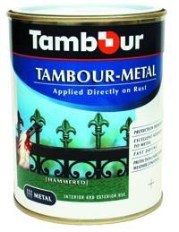 Краска Tambour Metal гладкая, молотковая, кованая (0,75л, 2,5л, 4,5л)
