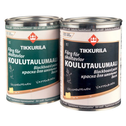 Краска Tikkurila для школьных досок 1л