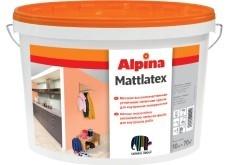 Краска водоэмульсионная Alpina MATTLATEX.