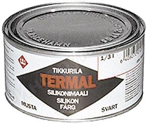 Краска жаростойкая Tikkurila Термал черный 0.1л