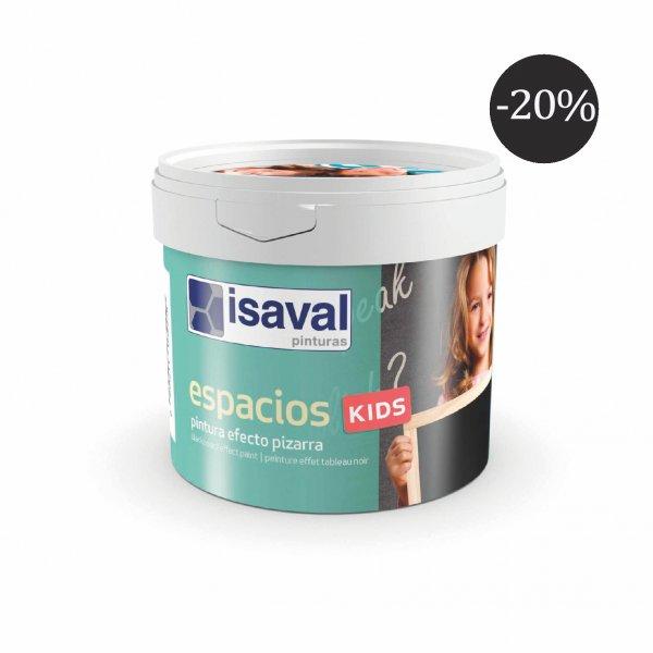 Фото  1 Фарба для шкільної дошки чорна - Espacios Kids 0,5л isaval 1848004