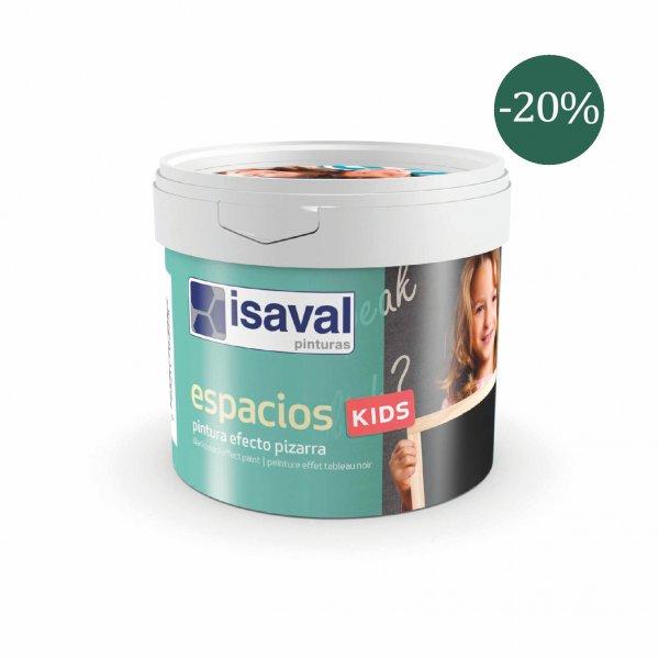 Фото  1 Фарба для шкільної дошки зелена - Espacios Kids 0,5л isaval 1848104