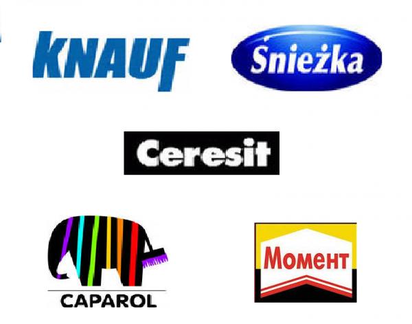 Краски Sniezka, Alpina, Kolorit, Caparol в ассортименте по лучшим ценам в Крыму.