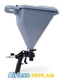 Краскопульт Graco TexSpray с бункером на 5,5 л для нанесения фактурных составов