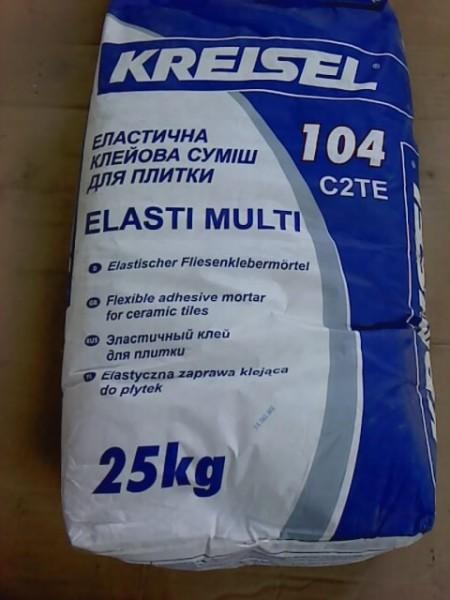 Kreisel (Elasti-multi 104) клей эластичный для плитки (доставка)