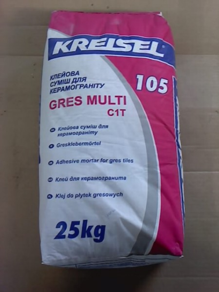 Kreisel (Gres-Multi 105) клей для керамогранита (доставка)