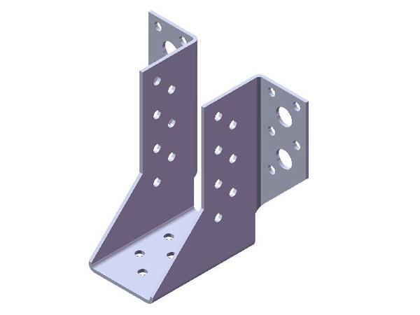 крепежи для стропил: крепления балок 50х120х85х2,0