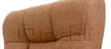 Кресло Атлантис FLASH Мадрас ДК Браун подлокотники орех A4768