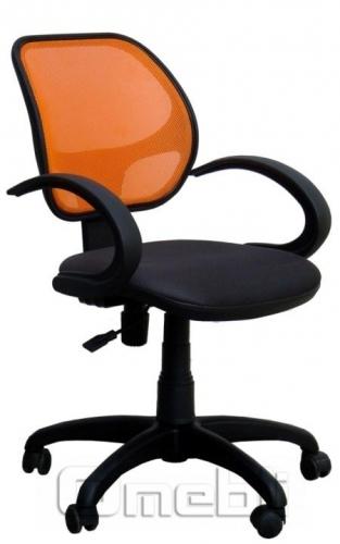 Кресло Байт AMF-5 Сетка оранж/ Сетка черная A38272