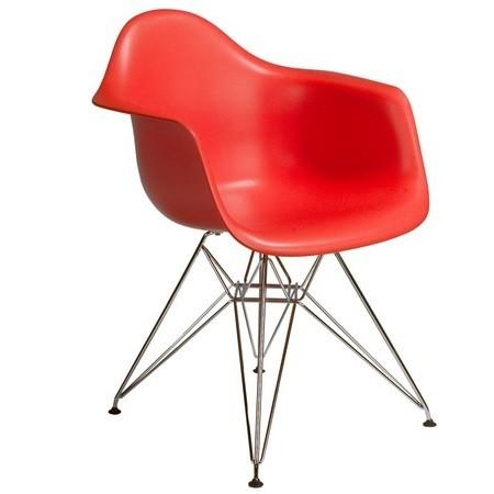Кресло барное Тауэр, цвет красный