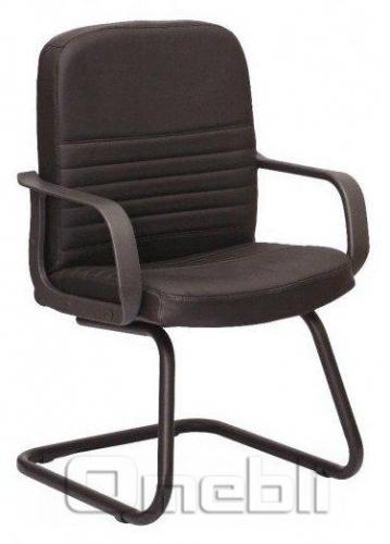 Кресло Чинция CF Скаден черный кожзам A6929