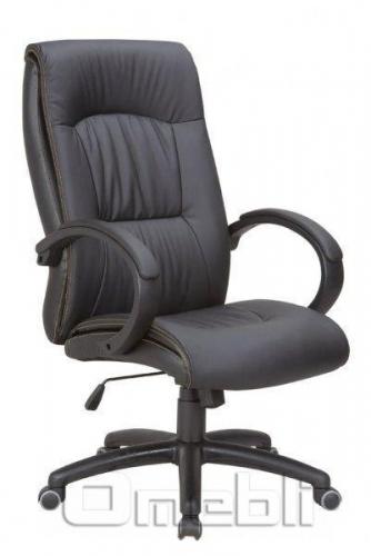 Кресло Донатос HB Кожзам черный A7336