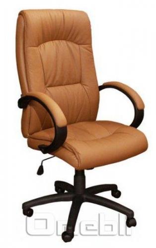 Кресло Донатос HB Кожзам коричневый A7337