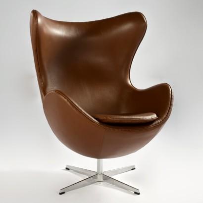 Кресло Эгг, цвет коричневый
