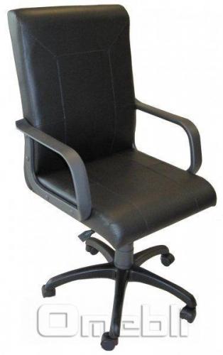Кресло Фаворит НВ Винилис черный A7050