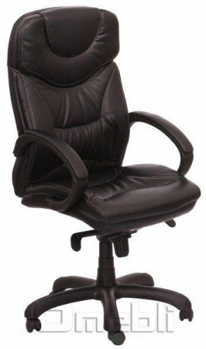 Кресло Флорида HB Кожзам черный A7315
