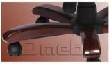 Кресло Галант DT Неаполь Черный N 20 подлокотники орех A7203