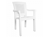 Фото  1 Кресло Irak Plastik Side белое 2017352