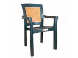 Фото  1 Кресло Irak Plastik Side зеленое 2017353