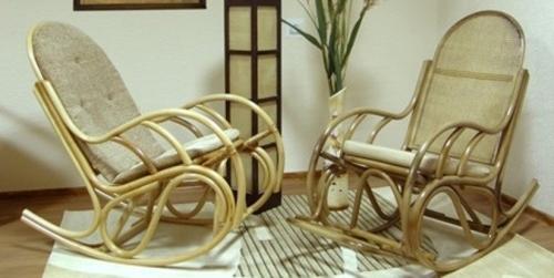 """Кресло-качалка из ротанга """"Бриз-1"""""""