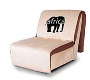 Кресло - кровать. 100 (h спинки) x 65 (гл. сиденья) x х 44 (h сиденья) х 90 (L) см. Спальное 205 х 90