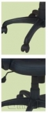 Кресло Лига PL Скаден черный кожзам A6559
