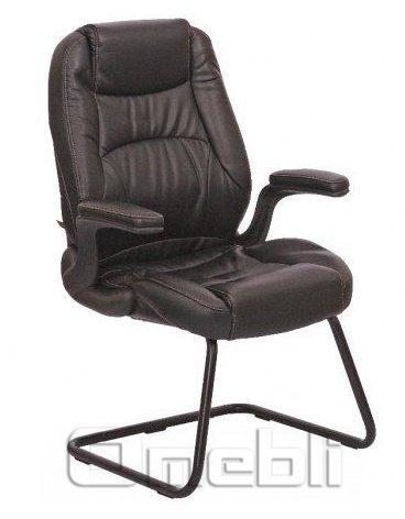Кресло Мустанг CF Кожзам черный A7322