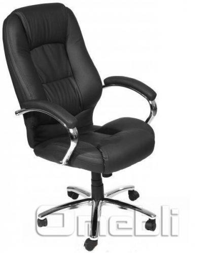 Кресло Надир HB Кожзам черный A7304