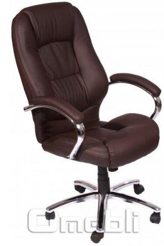 Кресло Надир HB Кожзам коричневый A7305